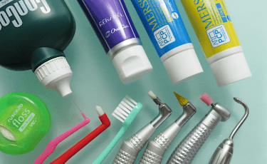 歯をきれいにする特殊清掃装置